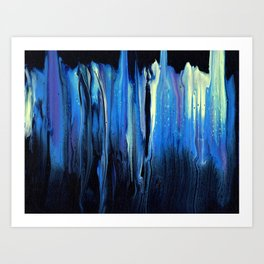 Midnight Reflection Art Print