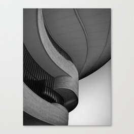 Building Abstract Canvas Print