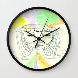 We are make of our influences  Wall Clock