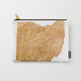 Gold Ohio Carry-All Pouch