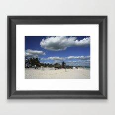 Carribean sea 15 Framed Art Print