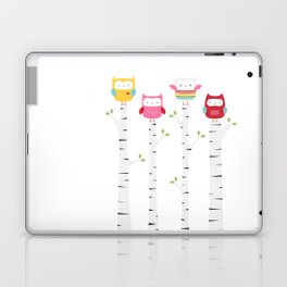 Treetop Owls Laptop & iPad Skin