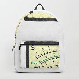 SWR Meter Amateur Ham Radio Novelty Distressed T-Shirt Backpack