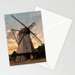 Windmills of Estonia Stationery Cards
