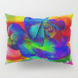 Rose Playing with Textures Pillow Sham