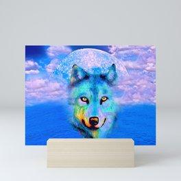 WOLF #2 Mini Art Print