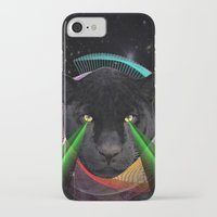 panther iPhone & iPod Cases featuring Panther by mark ashkenazi