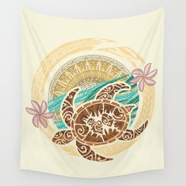 If We Tollerate This Eco Turtle Wall Tapestry