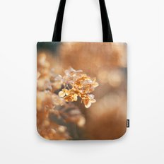 Gold Glitter Tote Bag
