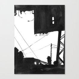 Railway VI Canvas Print