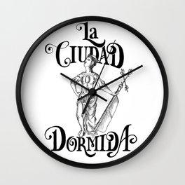 The Sleeping City, Allegory to La Giraldilla de La Habana Wall Clock