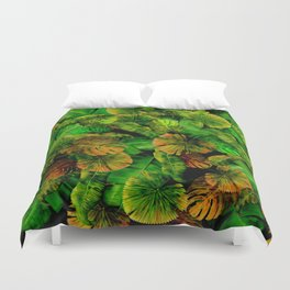 Tropical leaf random pattern painting iPhone 4 4s 5 5c 6 7, pillow case, mugs and tshirt Duvet Cover