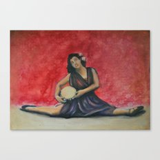 Folk Ballet Canvas Print