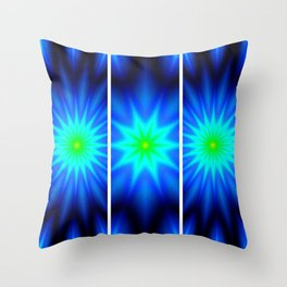 Power of Three Stars Throw Pillow
