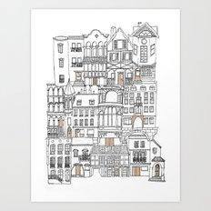 The Neighborhood Art Print