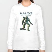 halo Long Sleeve T-shirts featuring Halo 5 by ezmaya