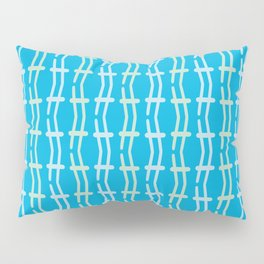 Abstract Lines Pattern Pillow Sham