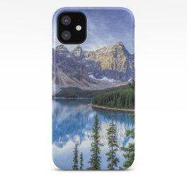 Moraine Lake #landscape #photography iPhone Case