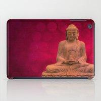 meditation iPad Cases featuring meditation by hannes cmarits (hannes61)