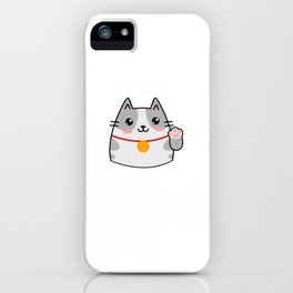 Kawaii Cat Anime Lover Lolita Kitten iPhone Case