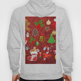 Cute Christmas Mix, red Hoody