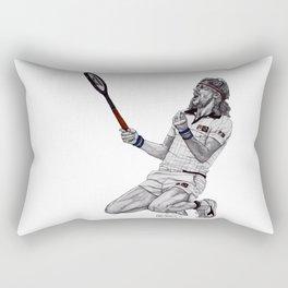 Tennis Borg Rectangular Pillow