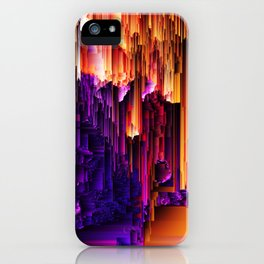 Fragmented Confusions iPhone Case