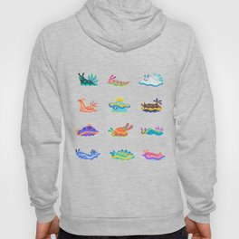 Sea slug - black Hoody