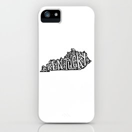 Kentucky iPhone Case