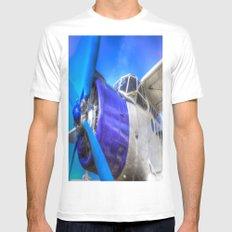 Malev Antonov An2 White Mens Fitted Tee MEDIUM