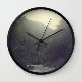 Surreal Mountains Wall Clock
