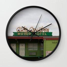 City Centre Motor Hotel Wall Clock