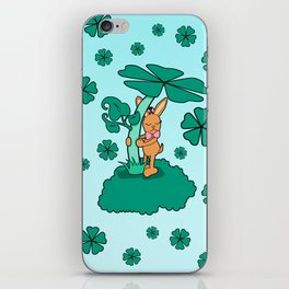 Lucky Bunny iPhone Skin