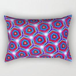 Synapse Pattern Rectangular Pillow