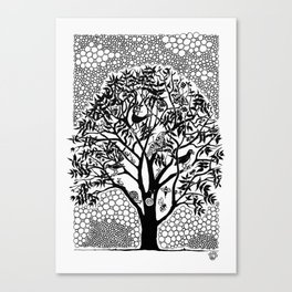 NOT just a Tree Canvas Print