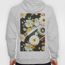Floral Vintage Camera (Color) Hoody