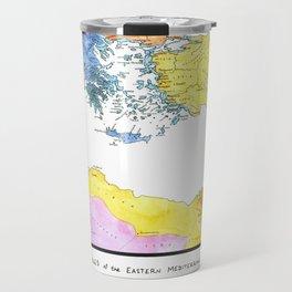 The Ancient Mediterranean Travel Mug