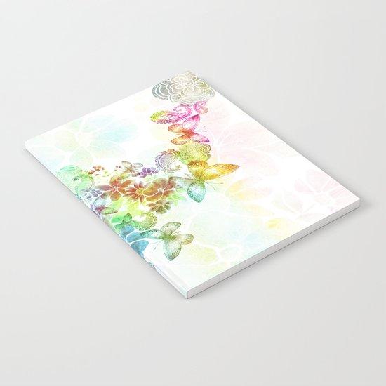 paisley flutter Notebook
