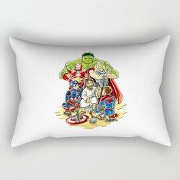 Save The World Mission Rectangular Pillow