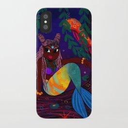 Tropical Mermadia iPhone Case