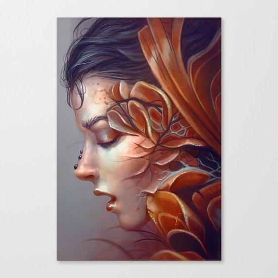 Curious Canvas Print
