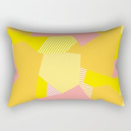 Peachy to the Max Rectangular Pillow
