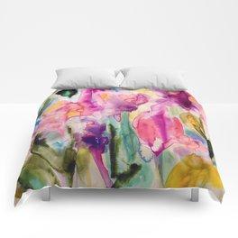 garden fantasy Comforters