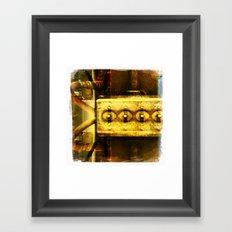 switch board Framed Art Print