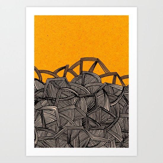 - barricades - Art Print