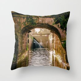 The Lock Throw Pillow