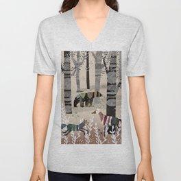 Forest in Sweater Unisex V-Neck