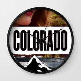 Colorado Bound Wall Clock