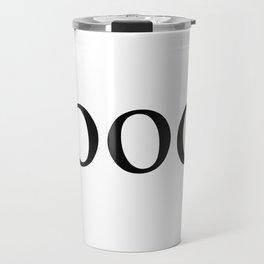 Food Serif Travel Mug