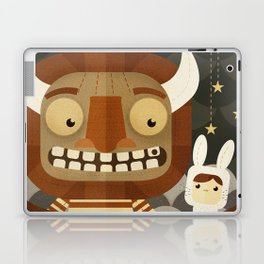 Where the wild things are fan art Laptop & iPad Skin